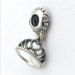 Authentic Pandora Hearts Tiara Charm